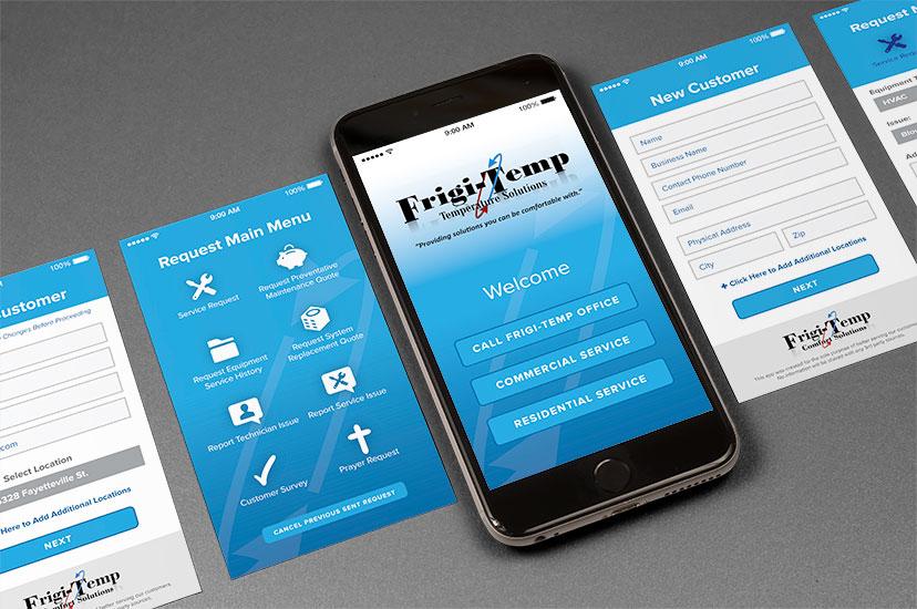 Frigi-Temp App development
