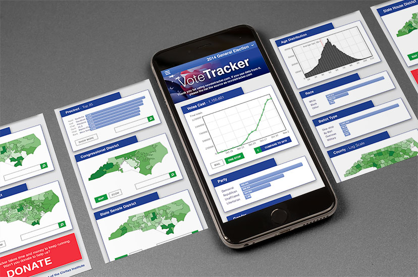 Votetracker App Image