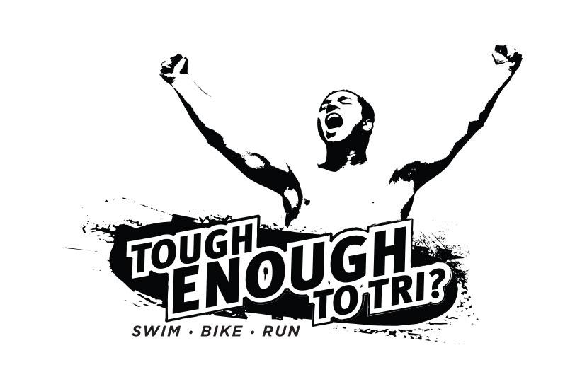 Tough Enough to Tri? Logo