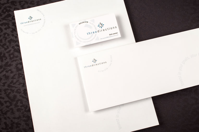 Three Directions Brand Identity