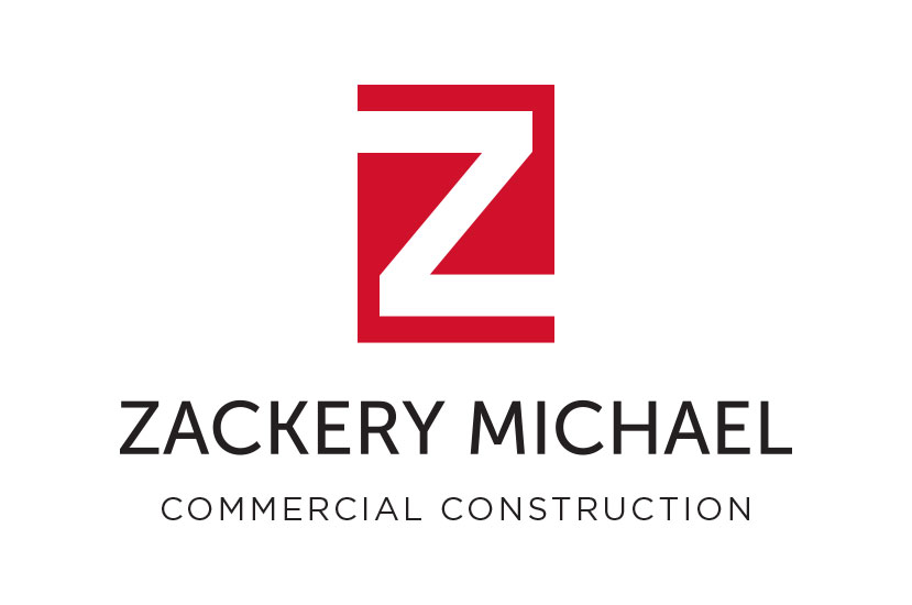 zackery michael commercial construction logo
