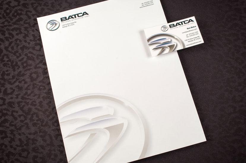 Batca Fitness Systems Brand Identity