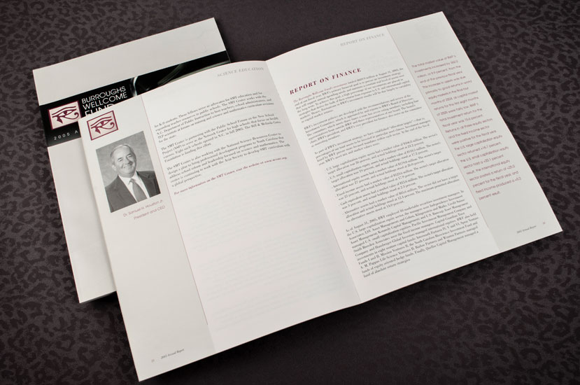 Burroughs Wellcome Fund Annual Report