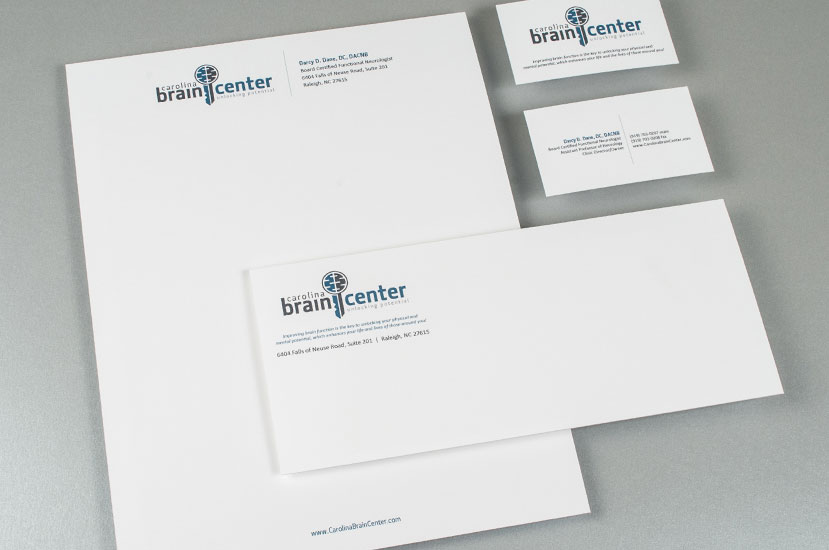 Carolina Brain Center Brand Identity