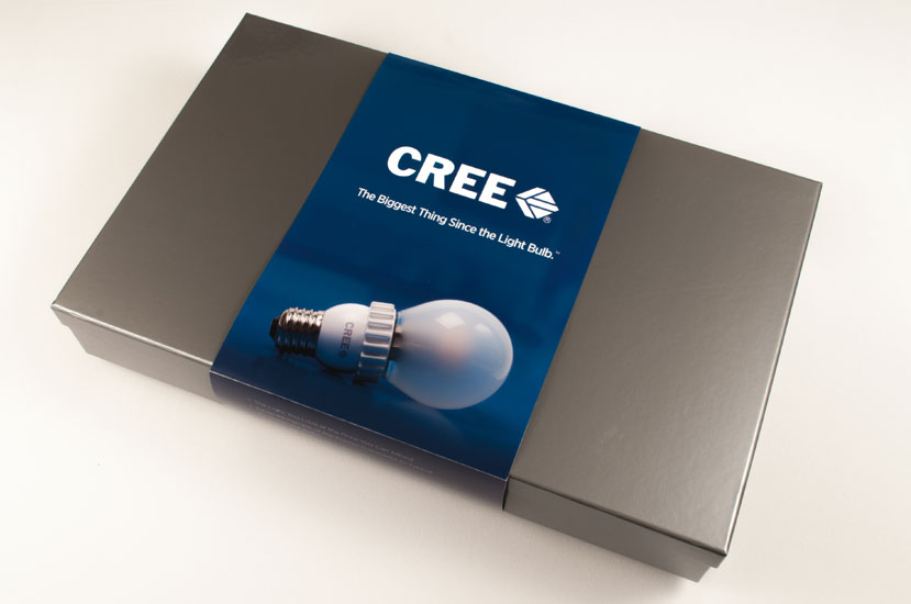 Cree Media Kit Packaging | Generate Design
