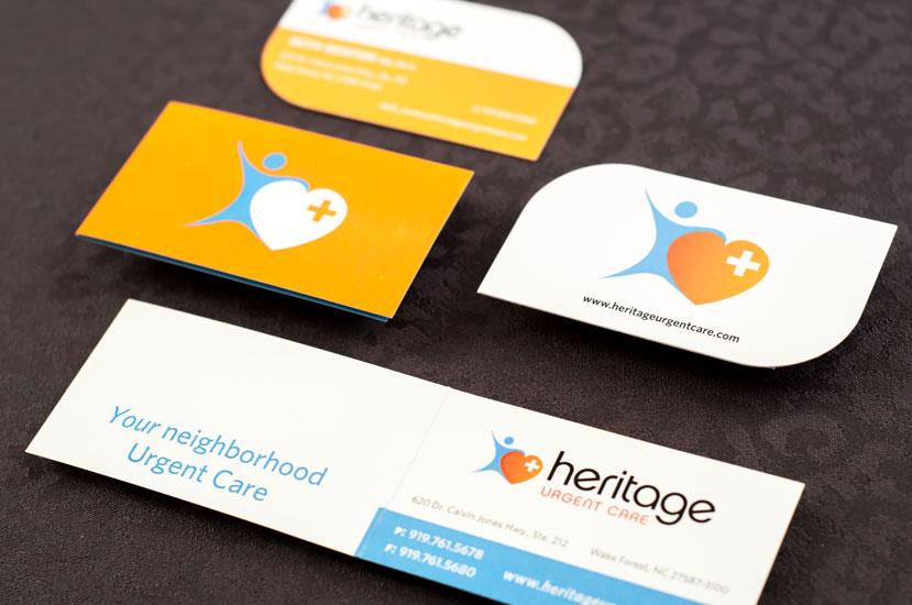 Heritage Urgent Care Brand Identity