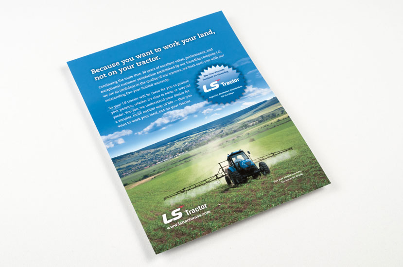 LS Tractor Ad Campaign