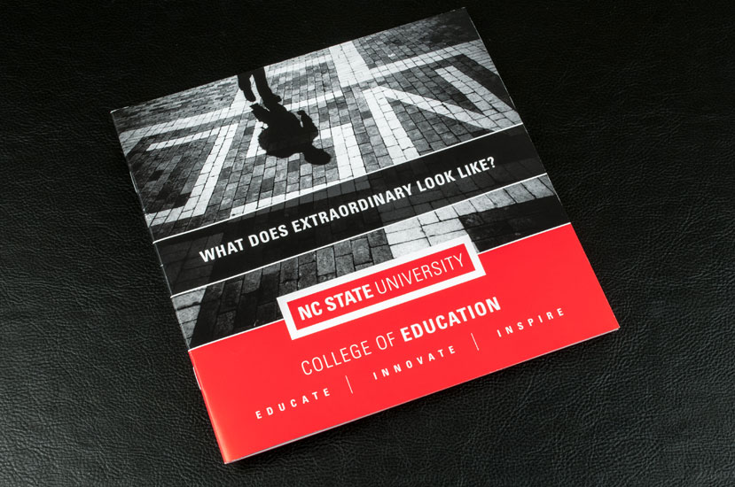 NC State College of Education Brochure