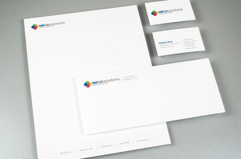 NSI Lab Solutions Brand Identity