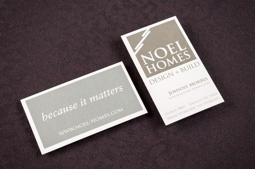 Noel Homes brand Identity