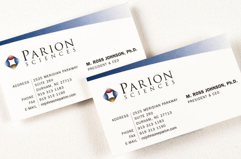 Parion Sciences Identity