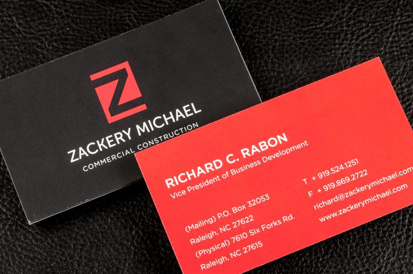 Zackery Michael Logo Design