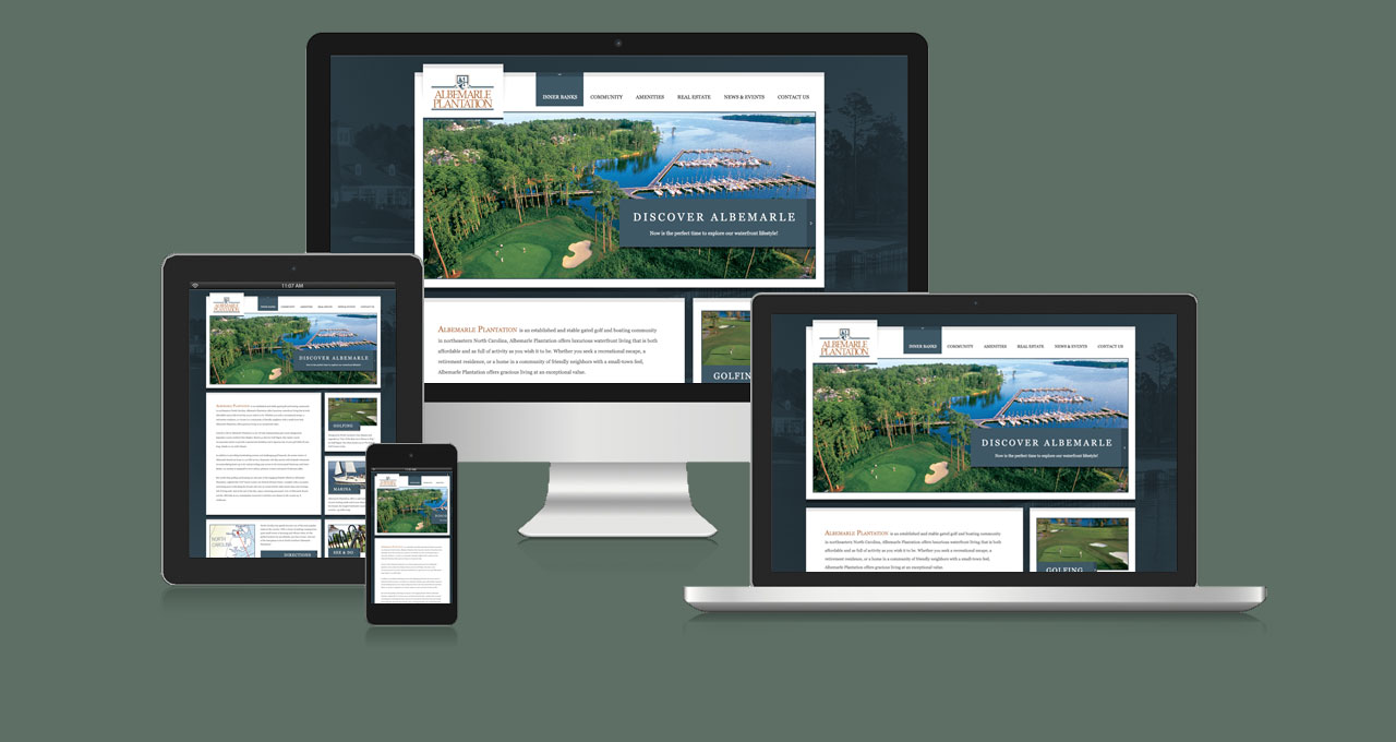Albemarle Plantation Website