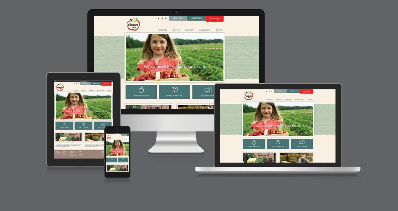 The Produce Box Website