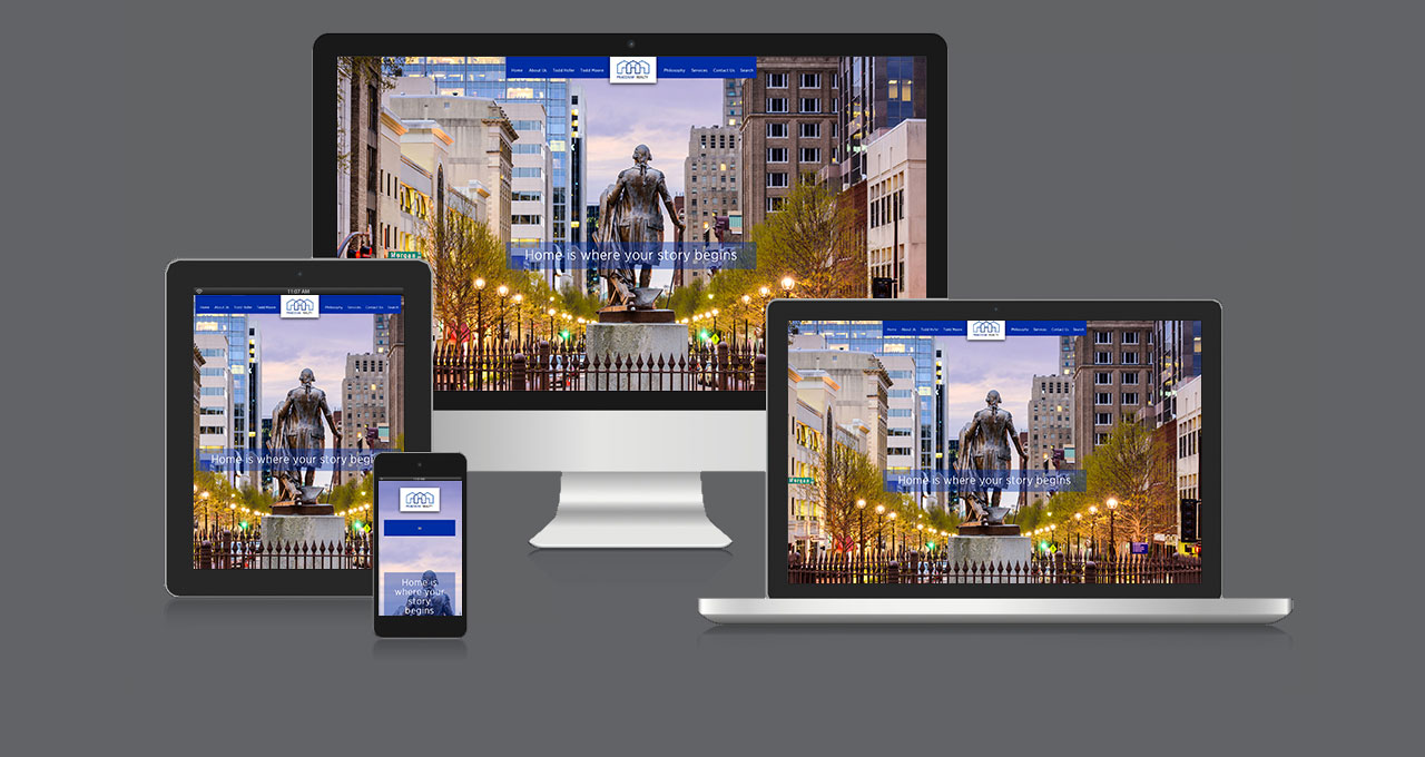 Praedium Real Estate Website