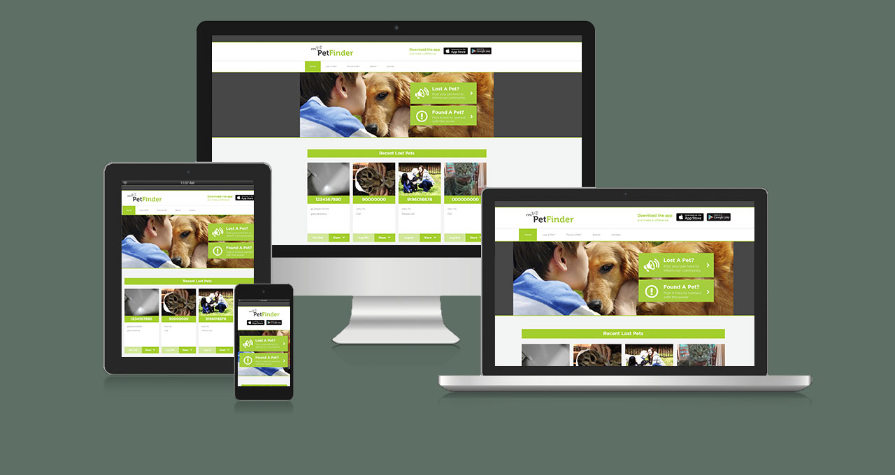 MyEZ PetFinder Website