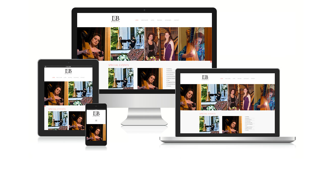 Raleigh Harpist Website