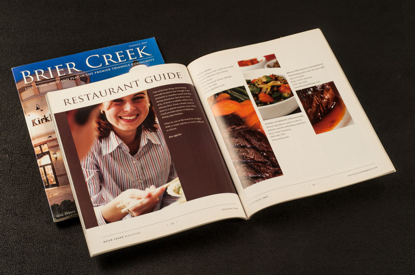 brier creek magazine design