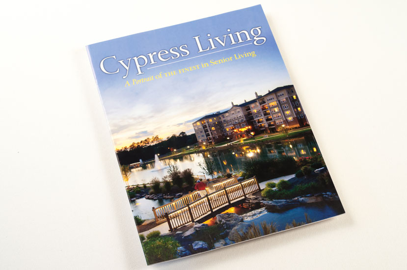 Cypress Living Magazine design