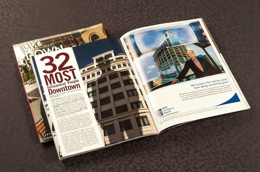 Downtown magazine design