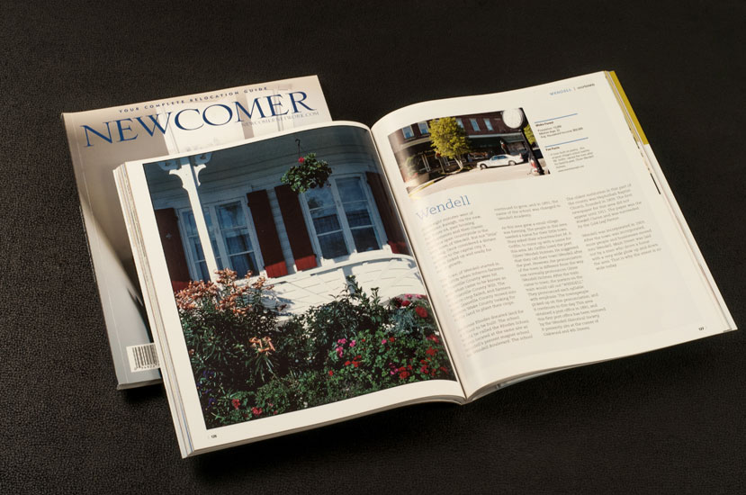newcomer magazine design