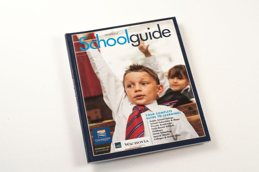 Schoolguide Magazine Design