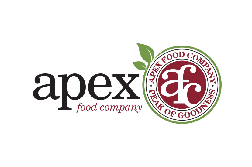 Logo Design Raleigh NC Apex Food Company Logo