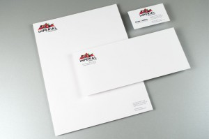 Imperial Frozen Foods illustrated corporate identity