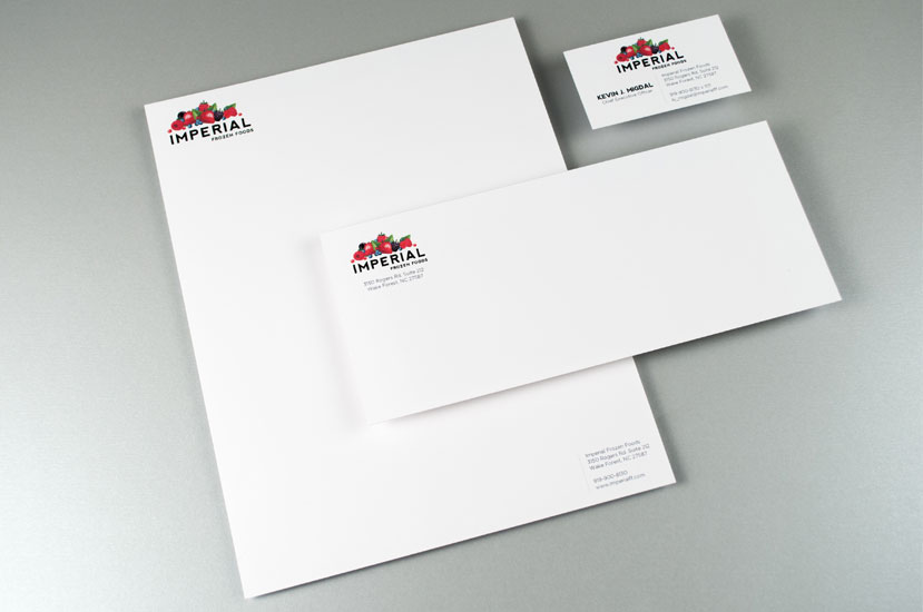 Imperial Foods brand Logo and Identity Design