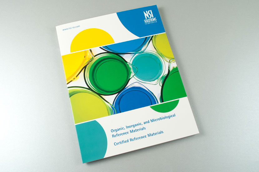 NSI Lab Solutions Organic Chemistry Catalog design Cover