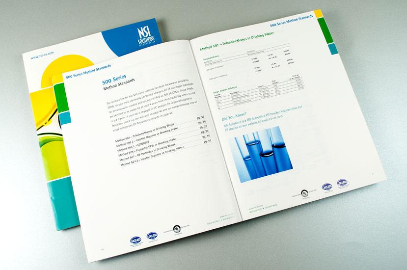 NSI Lab Solutions Organic Chemistry Catalog Interior Spread