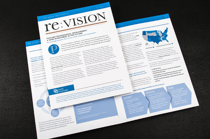 Newsletter Design RTP NC l reVISION Newsletter
