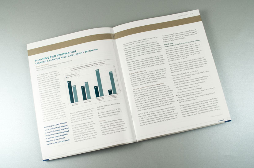 CAPTRUST Strategic Research Quarterly Report Design - Interior Spread
