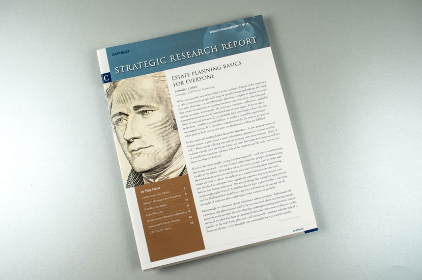 CAPTRUST Strategic Research Report Designer - Cover