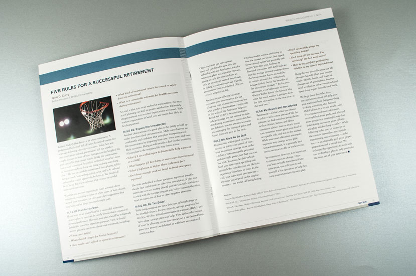 CAPTRUST Strategic Research Report Designer - Interior Spread