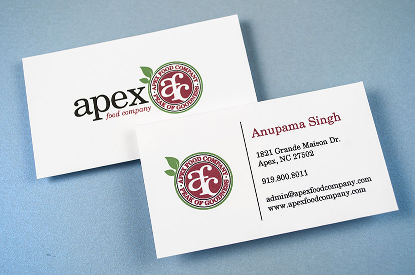 Apex Food Company Brand Identity
