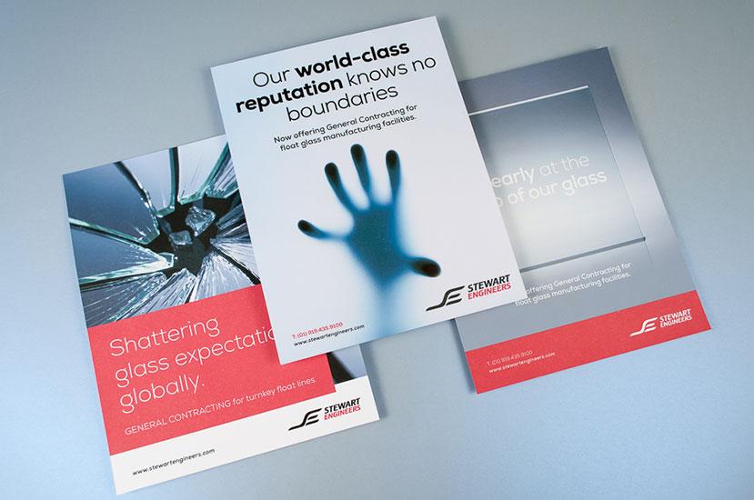Stewart Engineers Print Ads