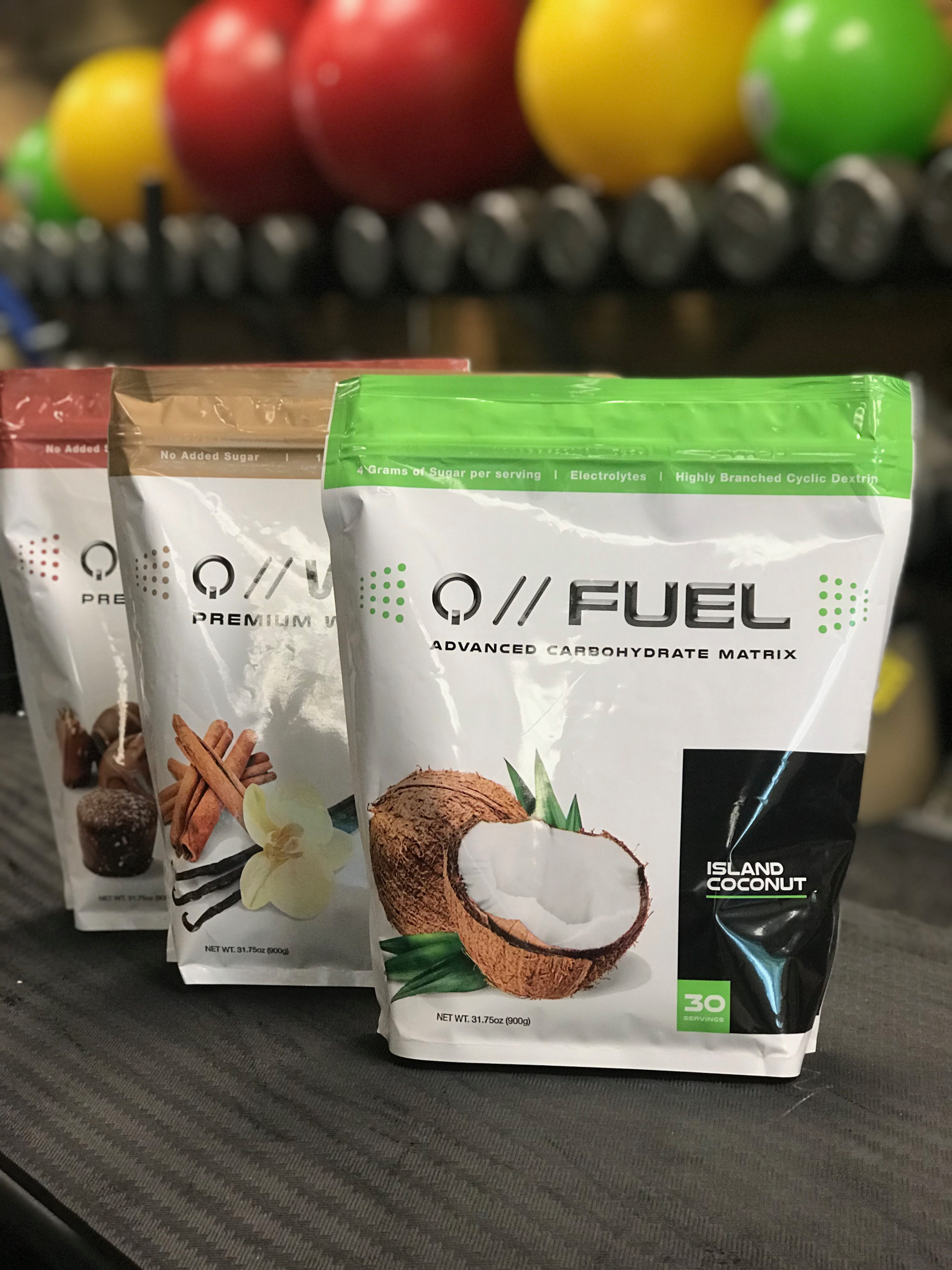 Quantified Nutrition (Bags) packaging design