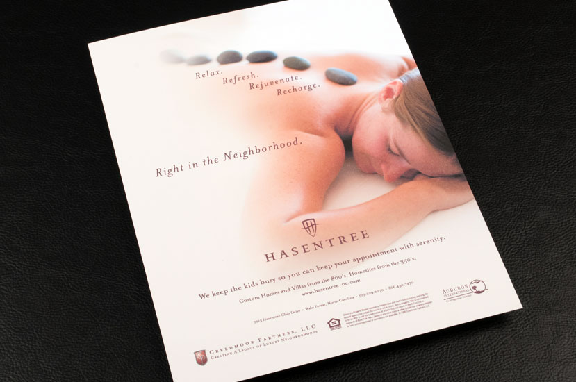 Hasentree Hot Stone Massage Spa Ad