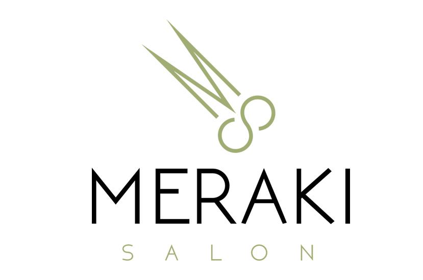Meraki Salon Logo
