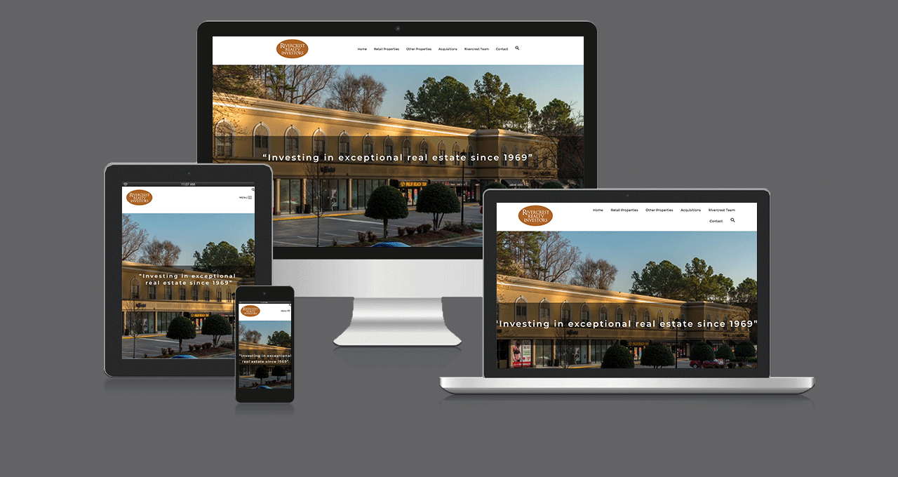 Rivercrest Realty Website